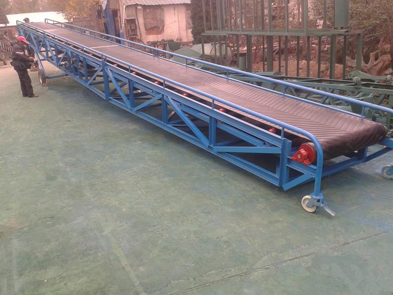 Portable Belt Conveyor - JINRUI Machinery