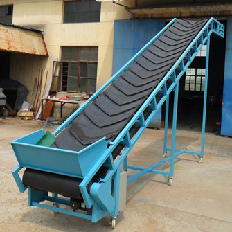 Portable Belt Conveyor | JINRUI Machinery